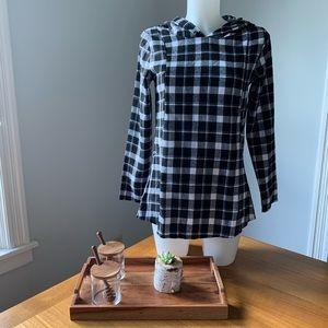 PatPat Plaid Maternity/Nursing Shirt Size Medium